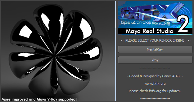 FXFX Maya Real Studio 2 is available now! - Fxfx.net ::: Digital Art ...