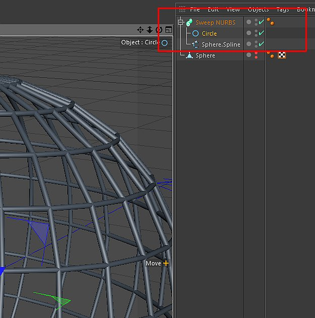 ... model wire mesh in Cinema 4D? | Fxfx.net ::: Digital Art Tips & Tricks